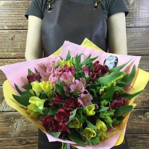 Альстро MIX: букеты цветов на заказ Flowwow