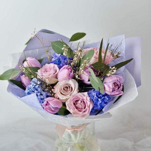 Холодное прикосновение: букеты цветов на заказ Flowwow