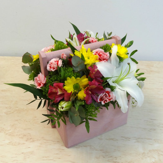 Ящик 2: букеты цветов на заказ Flowwow