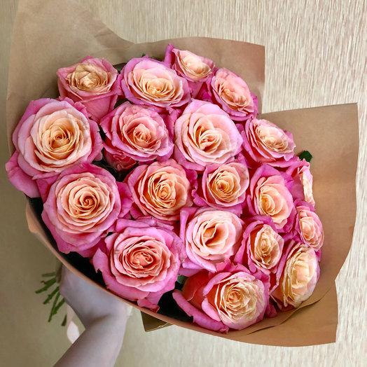 Букет «Мисс Пигги»: букеты цветов на заказ Flowwow