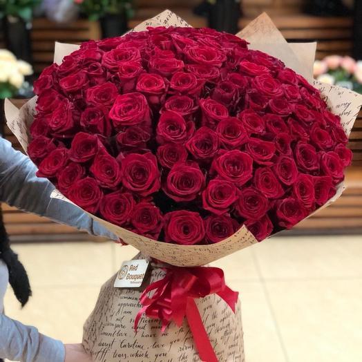 101 роза наоми: букеты цветов на заказ Flowwow