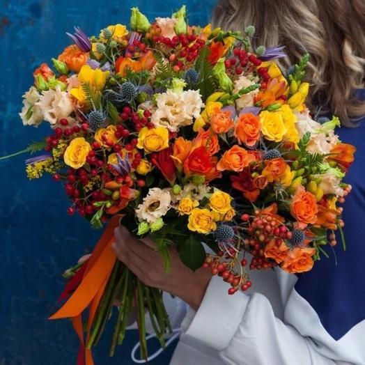 Осенний джаз: букеты цветов на заказ Flowwow