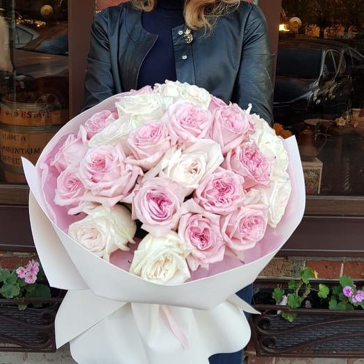 Влюбленные глаза: букеты цветов на заказ Flowwow