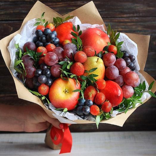 Красная нега: букеты цветов на заказ Flowwow