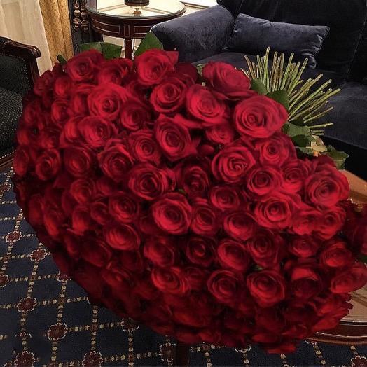 Red 101 (60 см, Ред Наоми): букеты цветов на заказ Flowwow