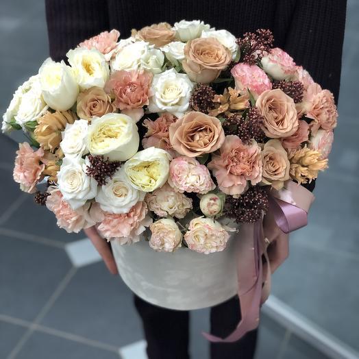 Нежный бархат: букеты цветов на заказ Flowwow