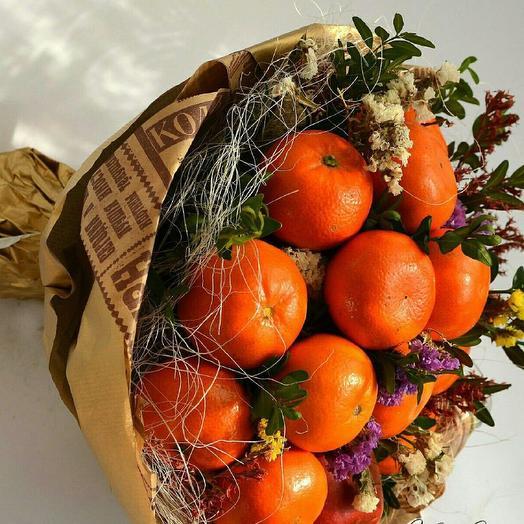 Апельсиновый букет: букеты цветов на заказ Flowwow