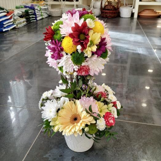 Дерево 🌳 счастья 🤗🥰: букеты цветов на заказ Flowwow