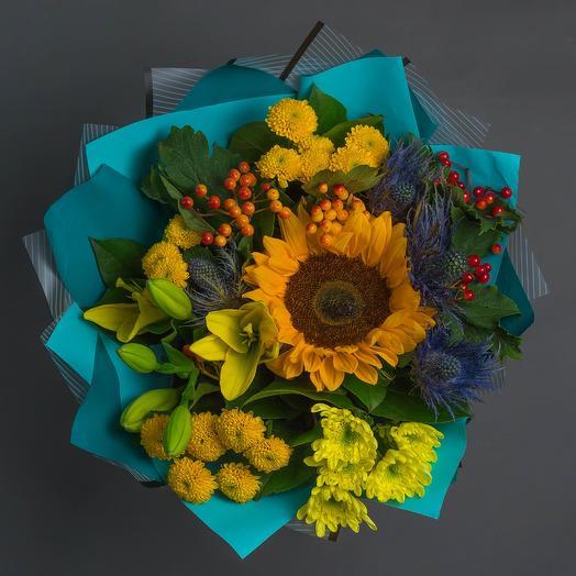 "Букет ""К 1 Сентября"": букеты цветов на заказ Flowwow"