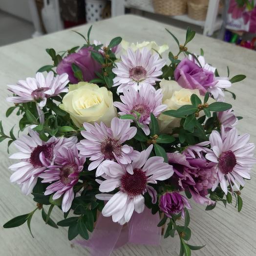 Букет 266: букеты цветов на заказ Flowwow