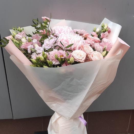 Зефирное облако💗☁️: букеты цветов на заказ Flowwow