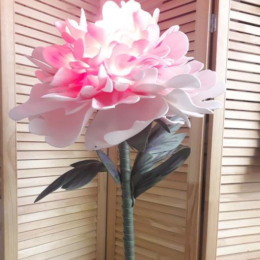Светильник-цветок Хризантема розовая: букеты цветов на заказ Flowwow