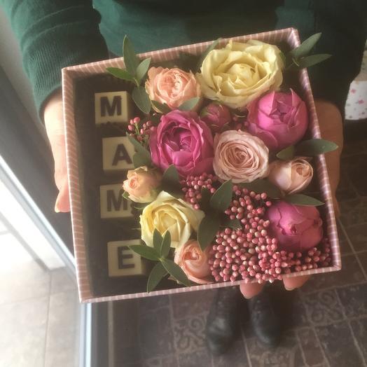 «Маме»: букеты цветов на заказ Flowwow