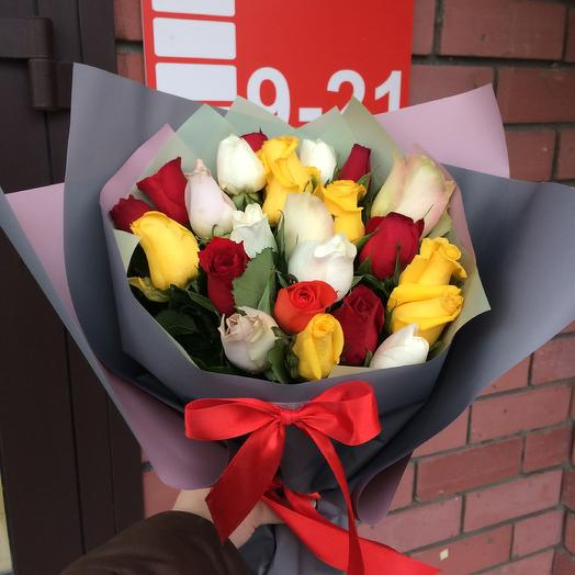 25 роз микс🌹