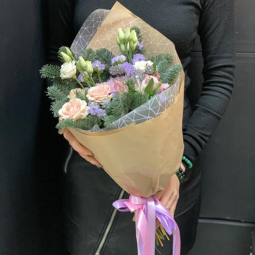 Букет «зимняя нежность»: букеты цветов на заказ Flowwow
