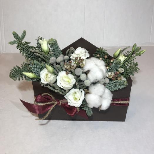 Письмо о нежности: букеты цветов на заказ Flowwow