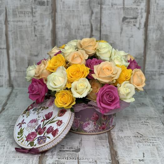 """Конфетти"": букеты цветов на заказ Flowwow"