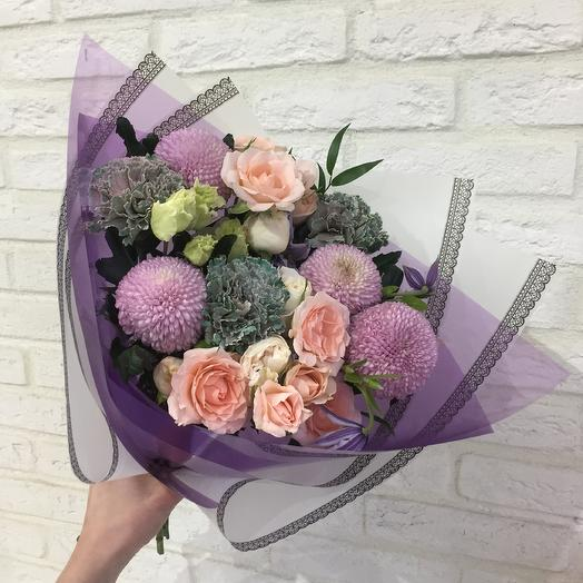 Вечерний звон: букеты цветов на заказ Flowwow