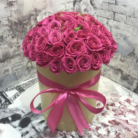 Коробочка Лавли Лидия: букеты цветов на заказ Flowwow