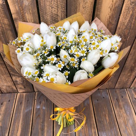 Летняя сказка: букеты цветов на заказ Flowwow