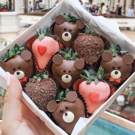 Шоколадные мишки