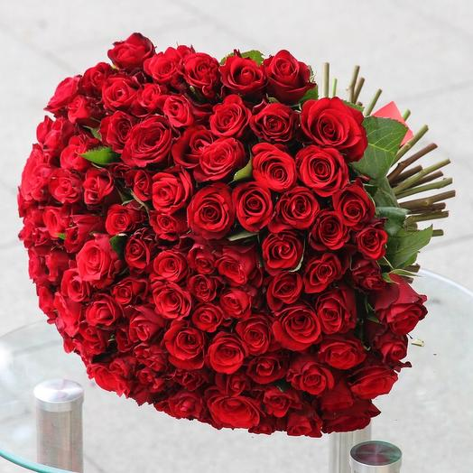 «Кармен» 101 Роза