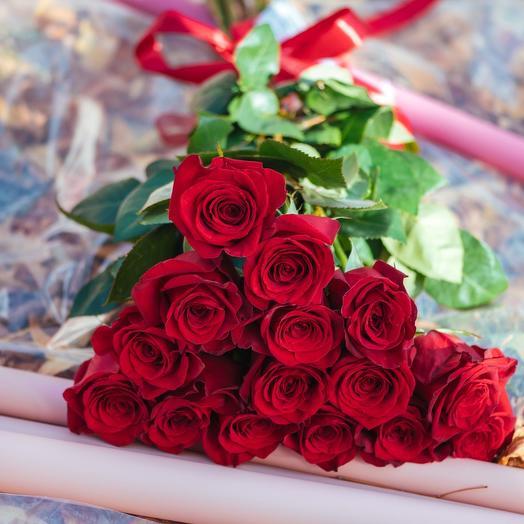 Букет из Эквадорских роз Эксплорер