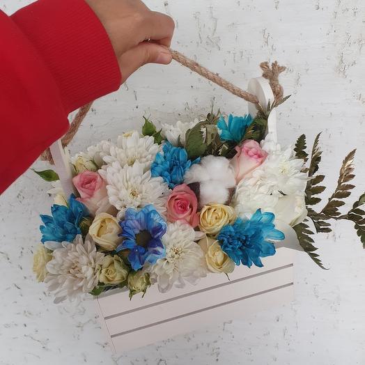 Яшичик цветов