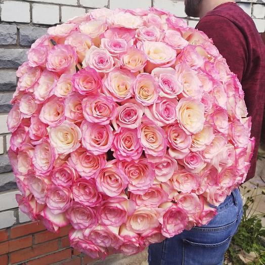 101 Роза 🌹 микс (цвета разные)