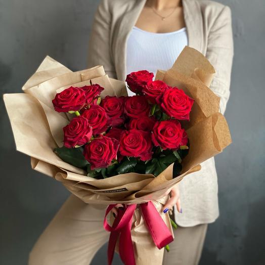 Розы бархатные