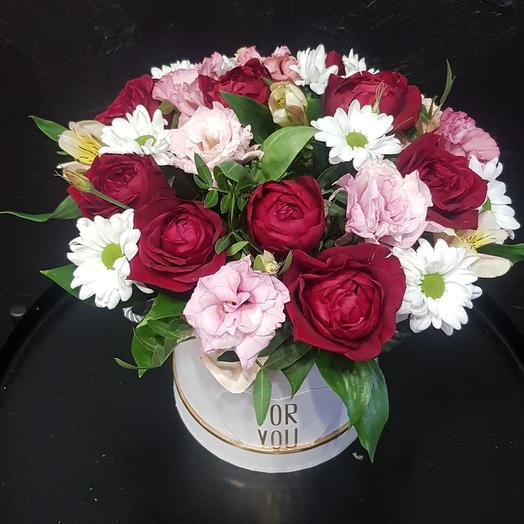 Цветы в коробке 1