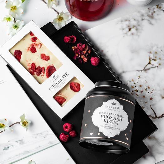 Подарочный набор чай и шоколад