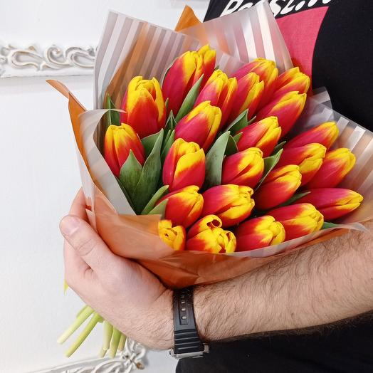 25 ярких тюльпанов