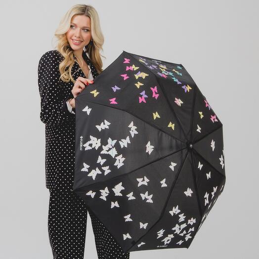 Складной женский зонт 100713