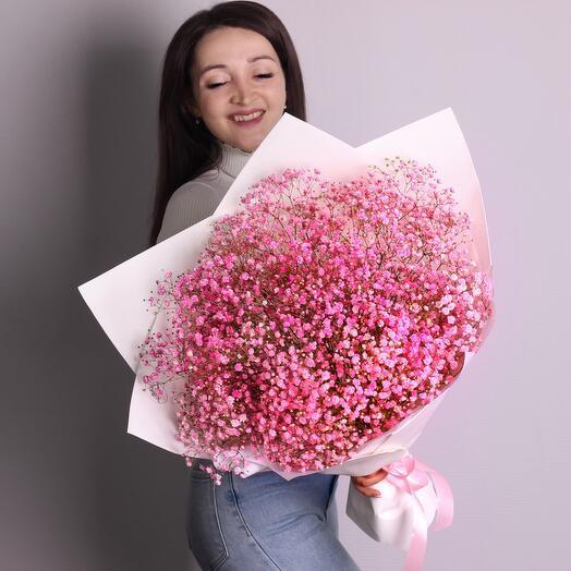 Букет «Розовое облако»