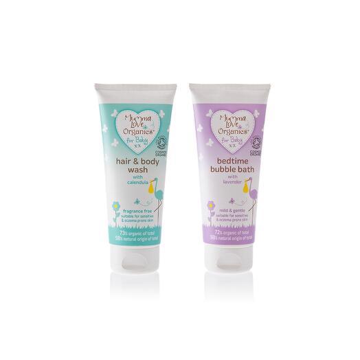 Набор для младенцев (шампунь-мыло + пенка), Mumma Love Organics