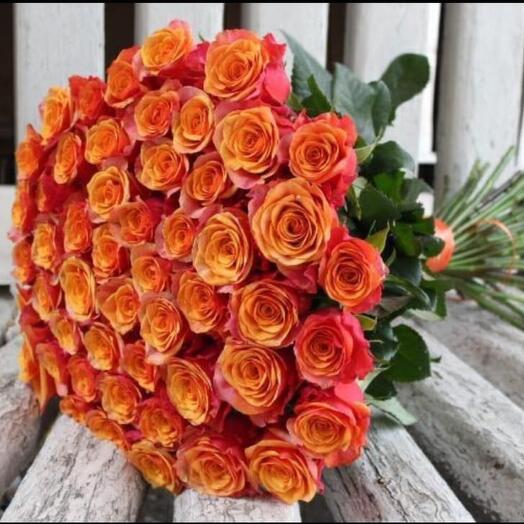51 голландская Роза «Испания» 60см