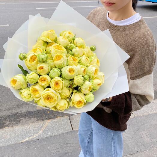 Пионовидные кустовые Розы