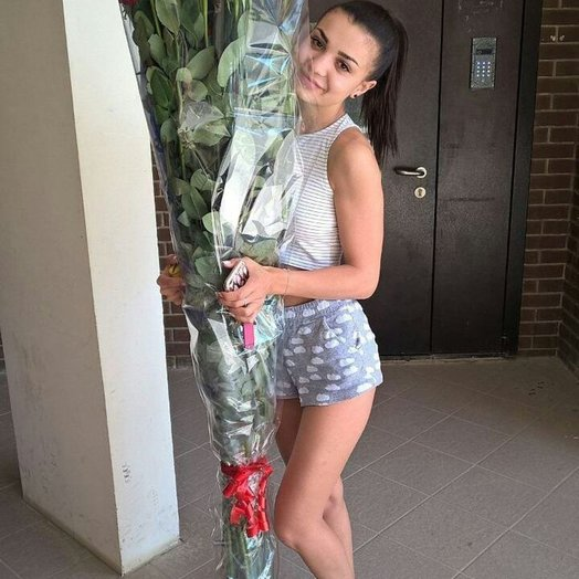 Розы 170 см: букеты цветов на заказ Flowwow