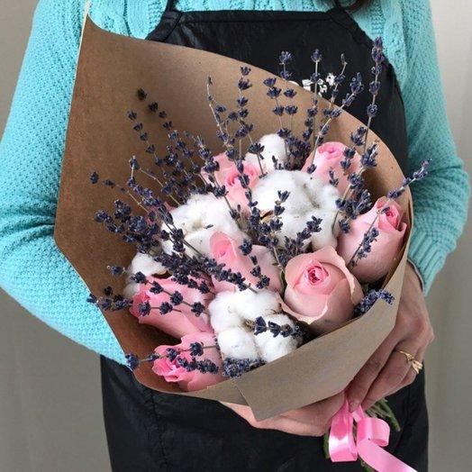 Букет Душистая Лаванда: букеты цветов на заказ Flowwow