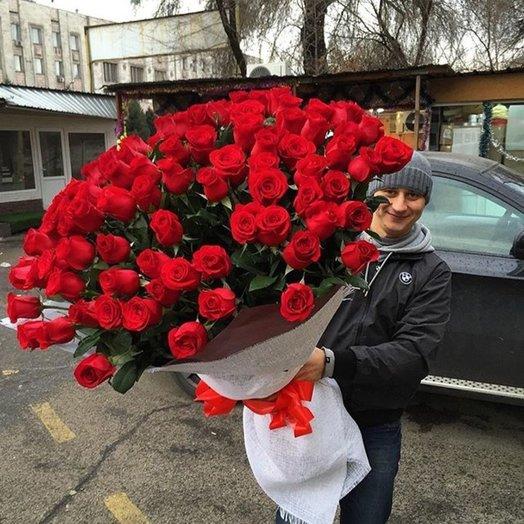 101 красавица букеты: букеты цветов на заказ Flowwow