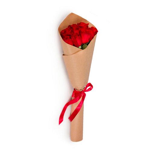Букет из красной розы: букеты цветов на заказ Flowwow
