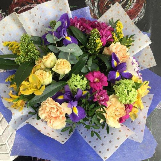 """Букет сборный """"Ирис"""": букеты цветов на заказ Flowwow"""