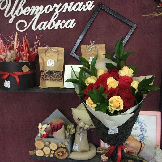 Нежная страсть: букеты цветов на заказ Flowwow
