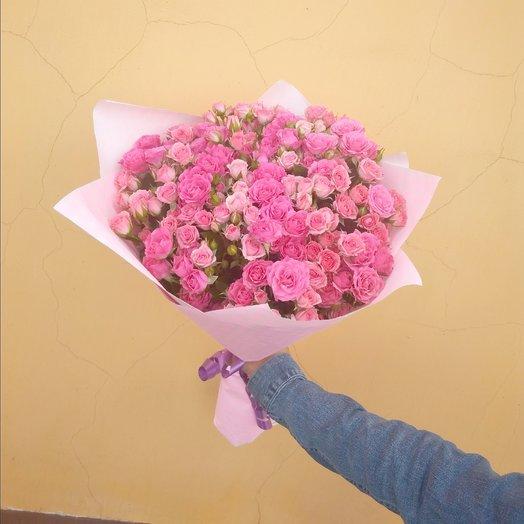 29 кустовая роза