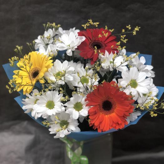 Букет летний: букеты цветов на заказ Flowwow