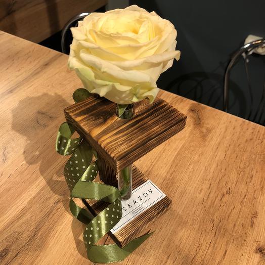 Розочка для презента: букеты цветов на заказ Flowwow