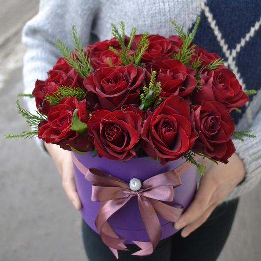 Зимний Поцелуй: букеты цветов на заказ Flowwow