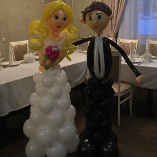 Фигуры жених и невеста: букеты цветов на заказ Flowwow