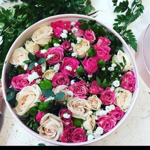 Коробочка желаний🤗: букеты цветов на заказ Flowwow